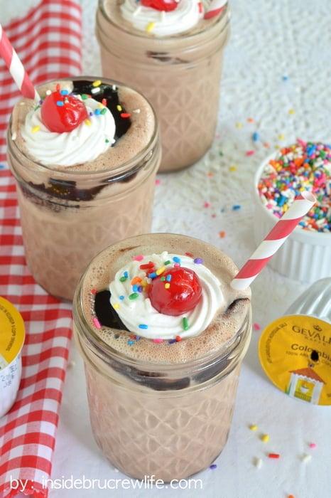 Mocha-Fudge-Milkshakes