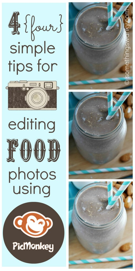 4 Simple Tips for Editing Food Photos in Picmonkey.com