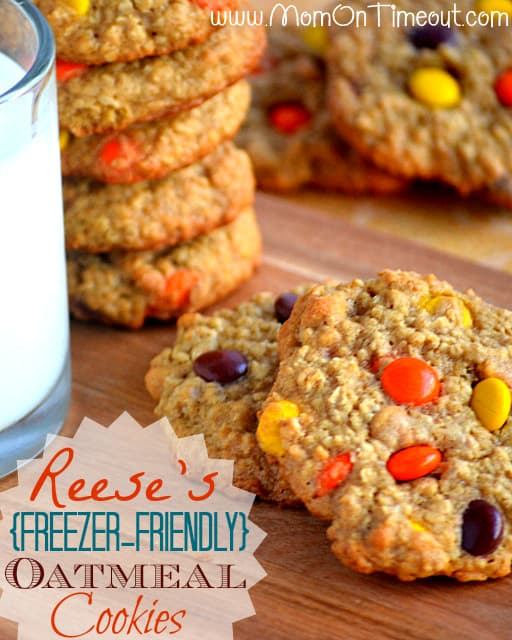 Reeses-Freezer-Oatmeal-Cookies