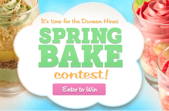 Bake your way to the Duncan Hines Test Kitchen!