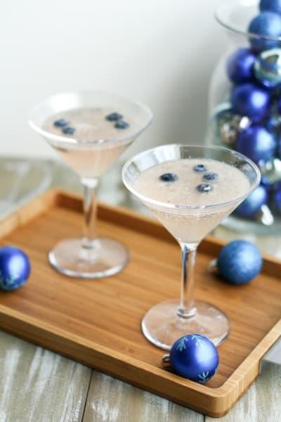 frost bite blueberry mocktail