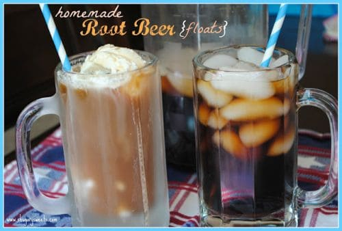 homemade rootbeer {floats}