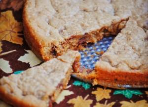pb cup cookie pie.melssweetlife