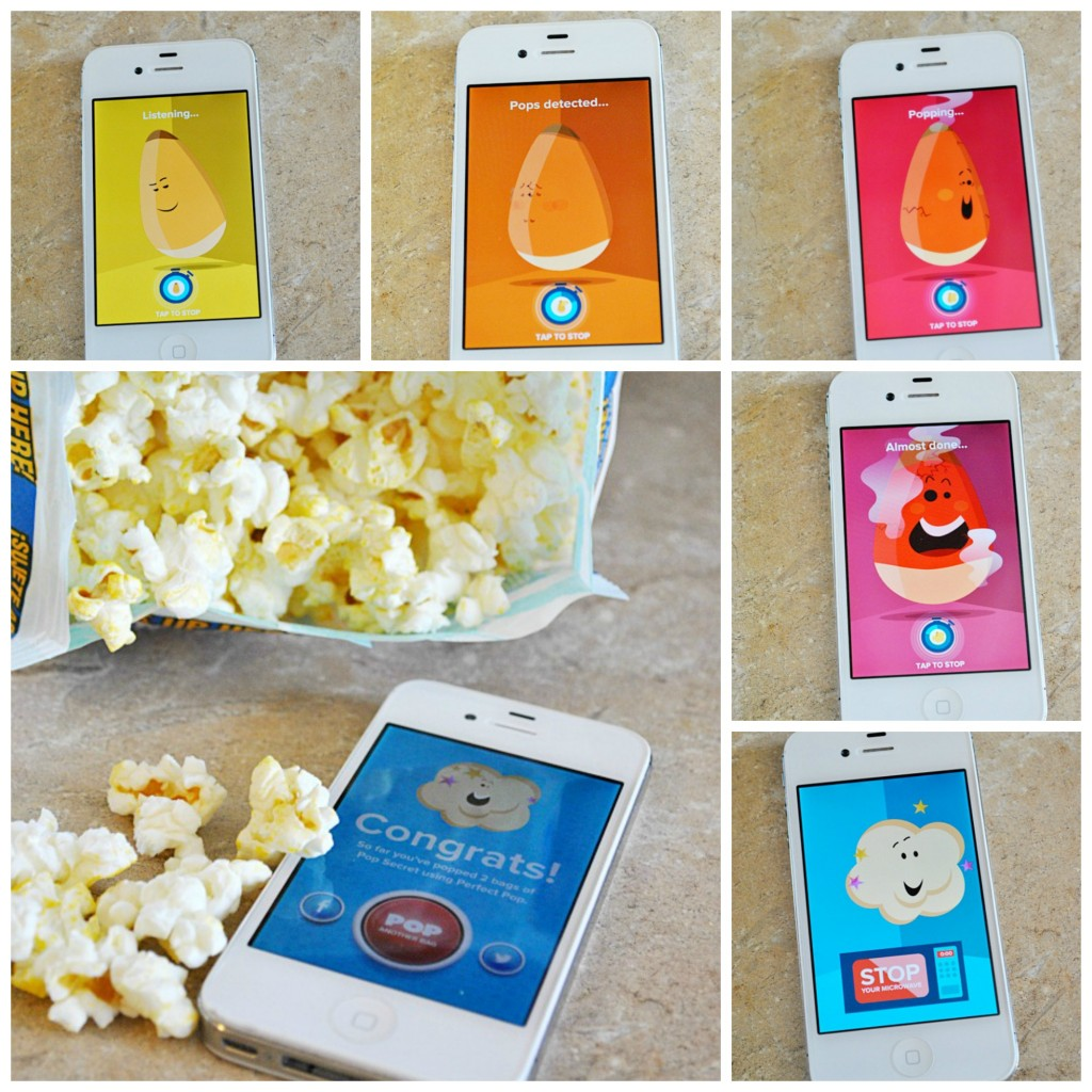 Use an APP to pop the perfect popcorn! www.somethingswanky.com