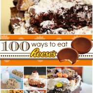 100 Ways to Eat a #Reeses | www.somethingswanky.com