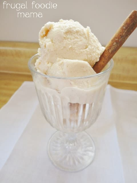 Cinnamon Caramel Ice Cream