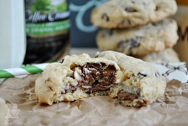 Irish Cream Chocolate Chip Cookies | www.somethingswanky.com