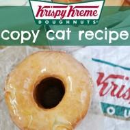 Krispy Kreme Copy Cat Recipe
