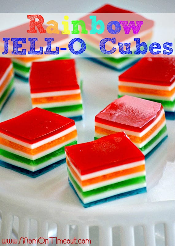 Rainbow-Jello-Cubes