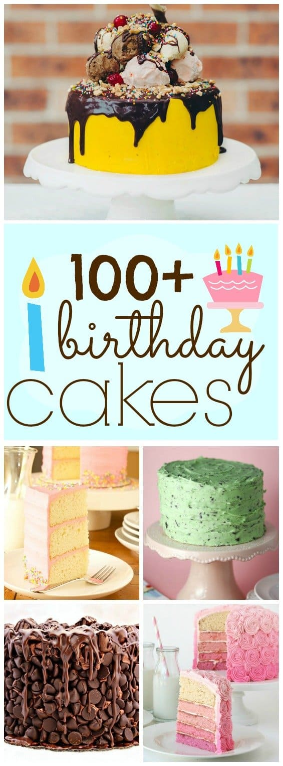 100 Yummy Birthday Cake Ideas