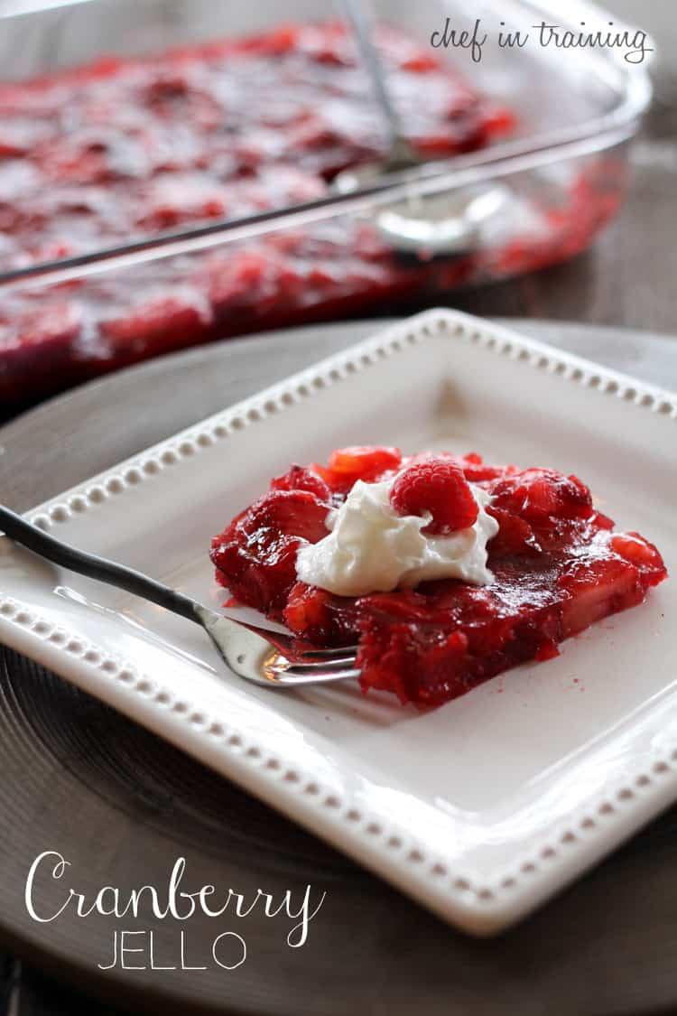 cranberry-jello
