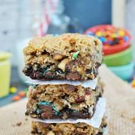 Monster Cookie Brookies | www.somethingswanky.com