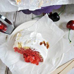 Strawberry Shortcake Overnight Pudding | www.somethingswanky.com