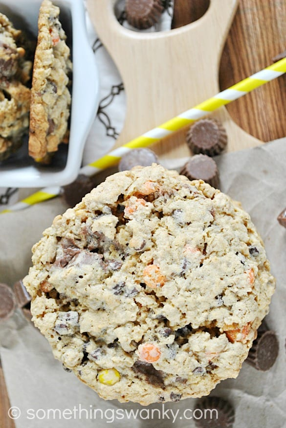 Reese's Monster Cookies