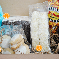 #orangeglad #dessert #subsciptionbox