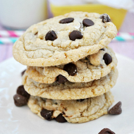 The BEST Cake Mix Cookies | www.somethingswanky.com