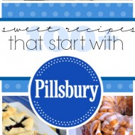 100+ Sweet Recipes That Start with #Pillsbury | www.somethingswanky.com