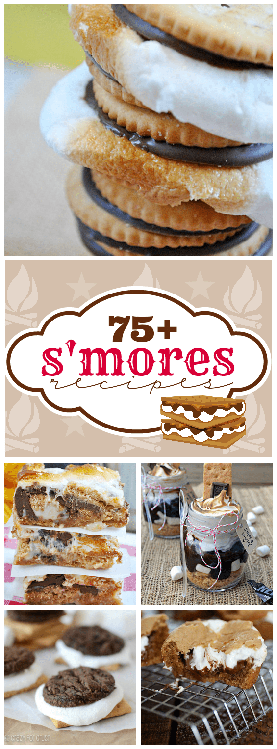 75+ Yummy S'mores Recipes | www.somethingswanky.com