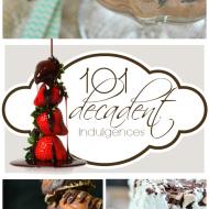 101 Decadent Indulgences | www.somethingswanky.com