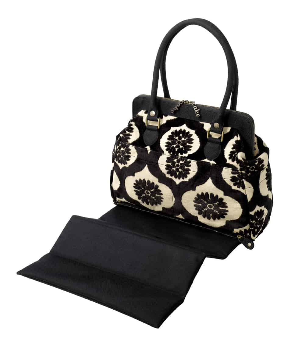 Black Forest Cake Cosmo Carryall by Petunia Pickle Bottom #ppbss