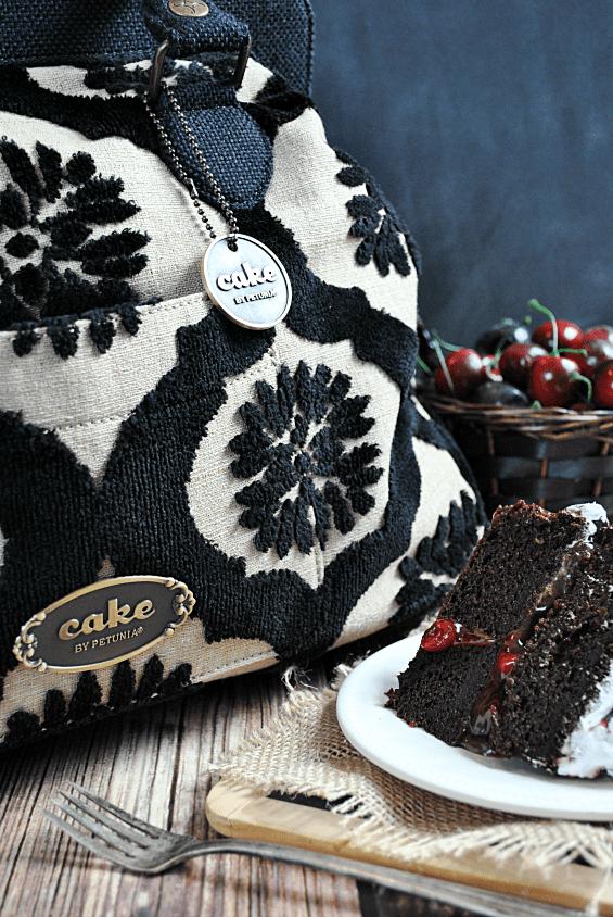 Easy & Elegant Black Forest Cake | www.somethingswanky.com