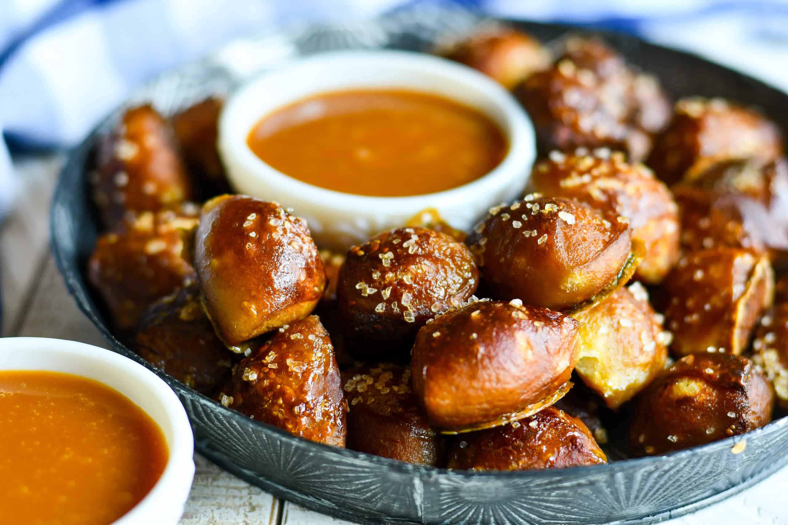 Soft Pretzels & Butterscotch Ganache Recipe