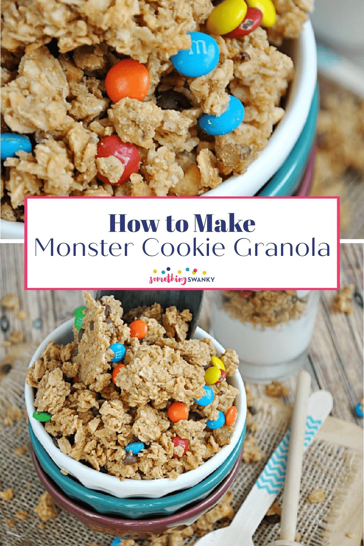Monster Cookie Granola Recipe