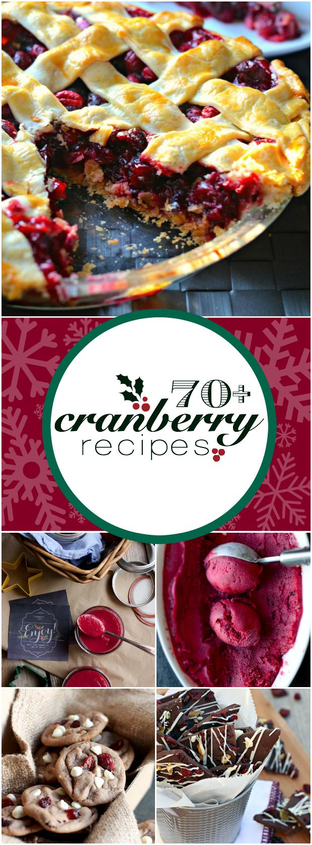 70+ Cranberry Dessert Recipes