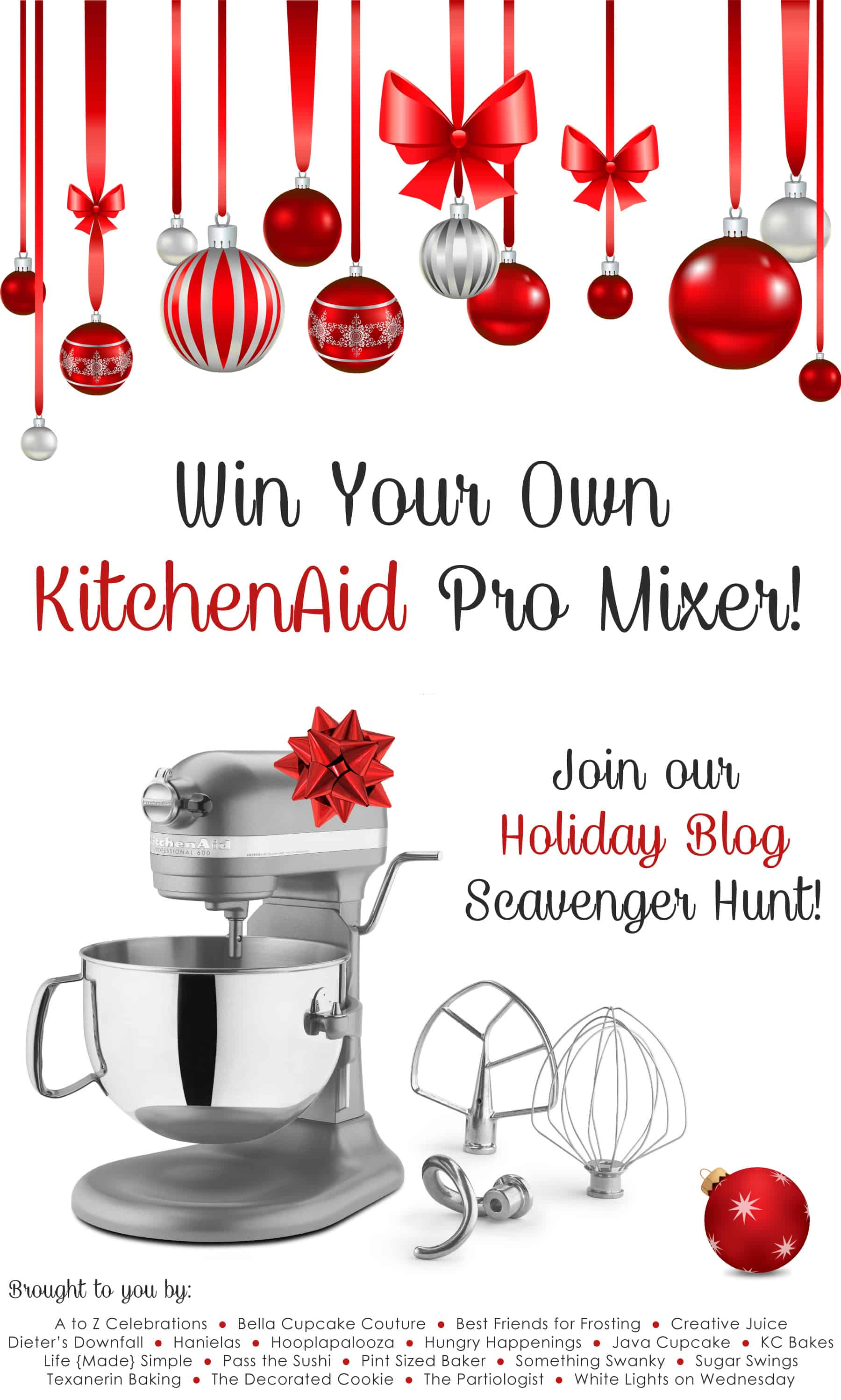 Win a KitchenAid Pro Mixer!