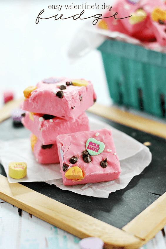 Easy Valentine S Day Fudge Something Swanky