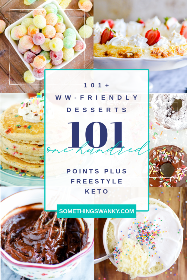 100+ Weight Watcher Friendly Desserts