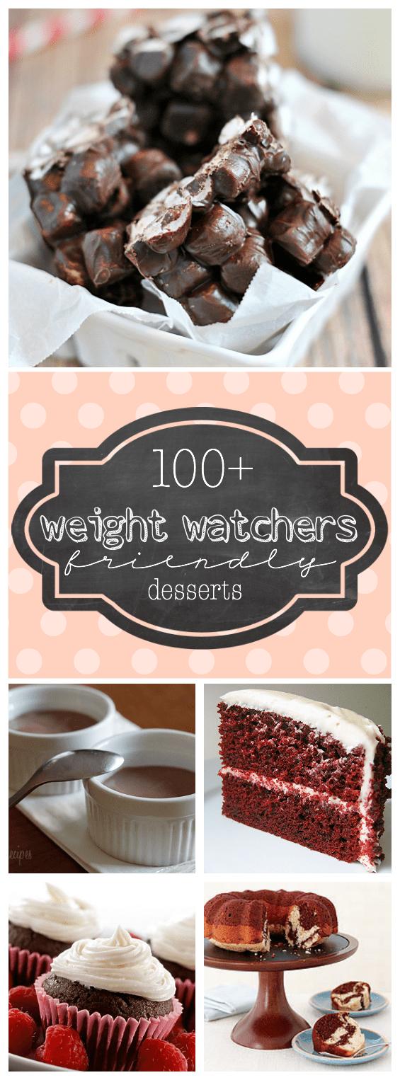 100 Weight Watchers Friendly Desserts