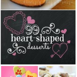 99 Heart Shaped Treats   www.somethingswanky.com