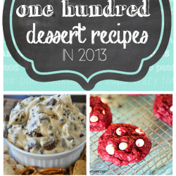 The Top 100 Dessert Recipes in 2013 | www.somethingswanky.com