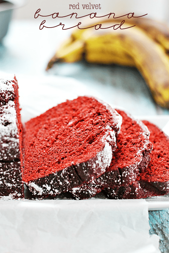Red Velvet Banana Bread | Unusual Bread Recipes You Have To Try