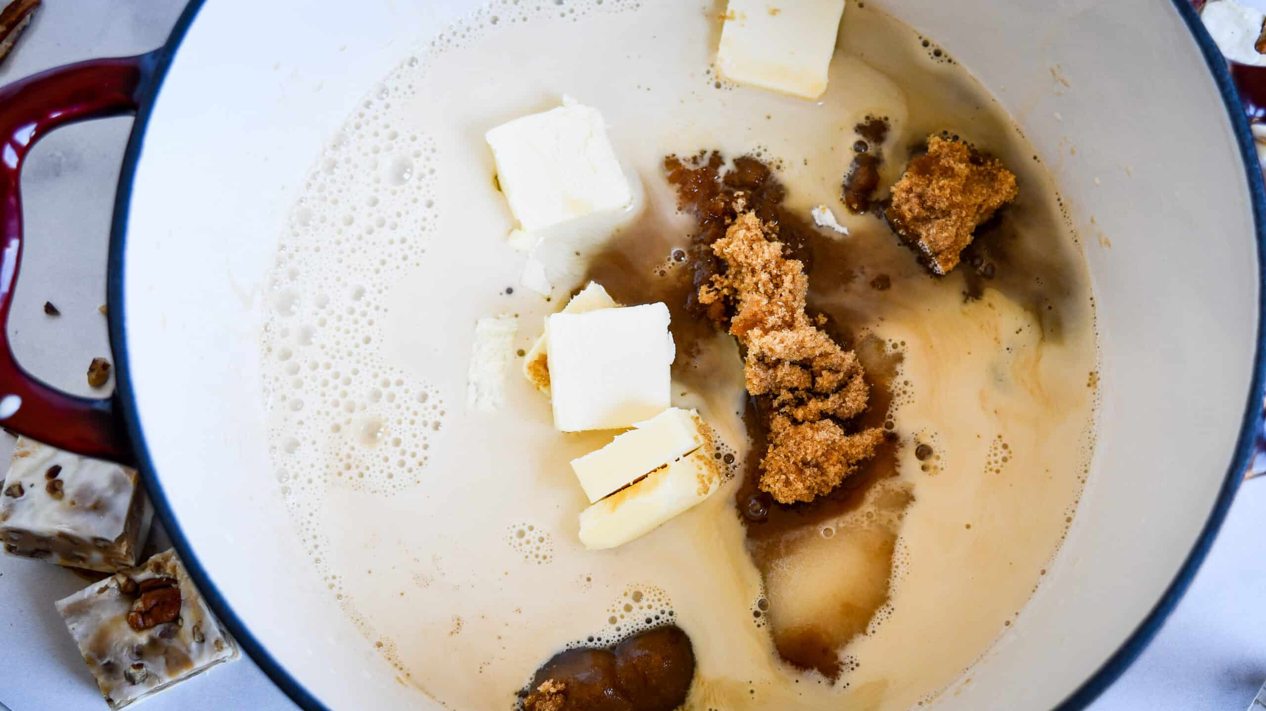 Pralines And Cream Fudge Recipe