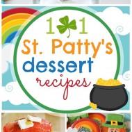 101 St. Patrick's Day Desserts | www.somethingswanky.com