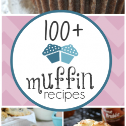 100+ Muffin Recipes | www.somethingswanky.com