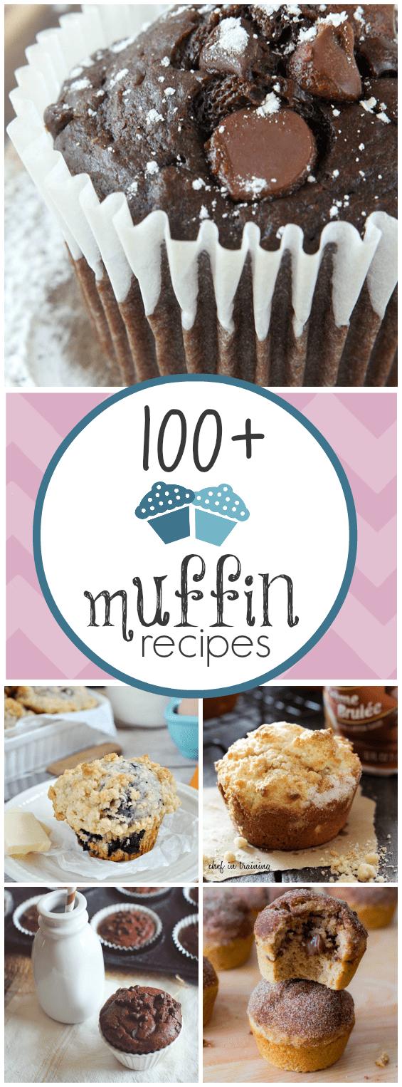 100+ Muffin Recipes | www.somethingswanky.com