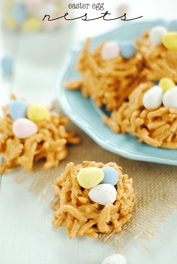 Easter egg haystacks something swanky for What day does easter fall on this year