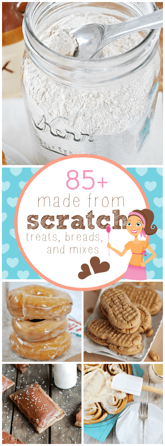 85+ Made from Scratch Treats, Breads, and Mixes | www.somethingswanky.com