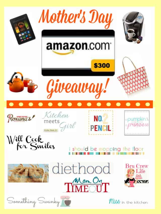 Mother's Day Amazon Gift Card Graphic