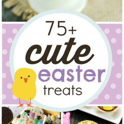 75+ Cute Easter Treats | www.somethingswanky.com