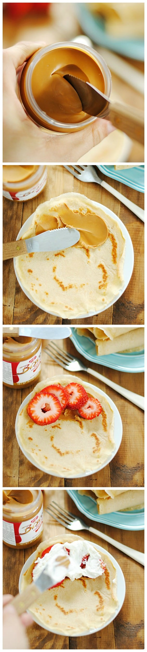Whole Wheat Crepes | www.somethingswanky.com