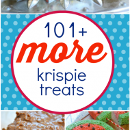 101+ MORE Rice Krispies Treats | www.somethingswanky.com
