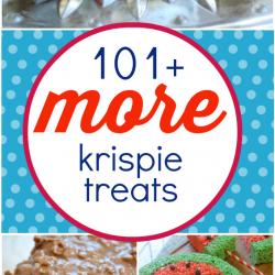 101+ MORE Rice Krispies Treats   www.somethingswanky.com