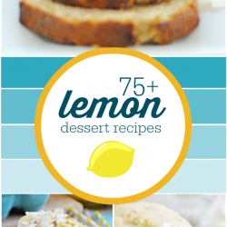 75 + Lemon Dessert Recipes | www.somethingswanky.com
