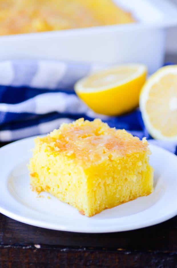 Lemon Jell-O Cake
