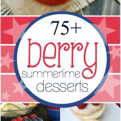 75+ Berry Dessert Recipes | www.somethingswanky.com