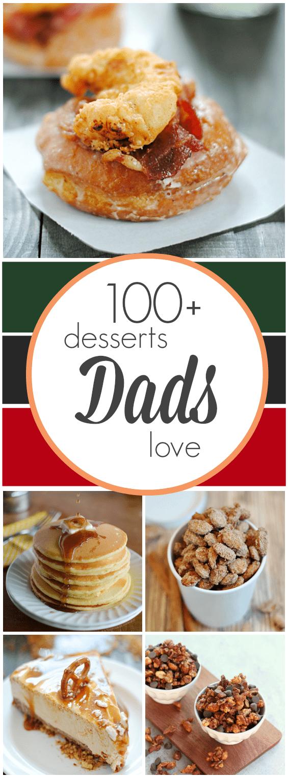 100+ Desserts Dads Love | www.somethingswanky.com